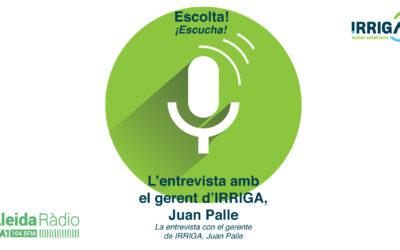 Entrevista amb en gerent d'Irriga el Joan Palle Torres